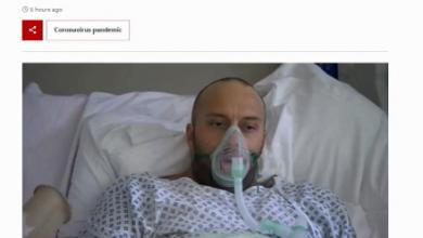 """Photo of Hospitalizado por """"Covid""""arrepentido de no vacunarse en BBC News, era un actor"""