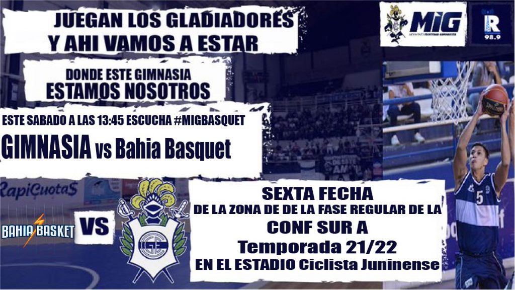GIMNASIA vs Bahia 30/10/21