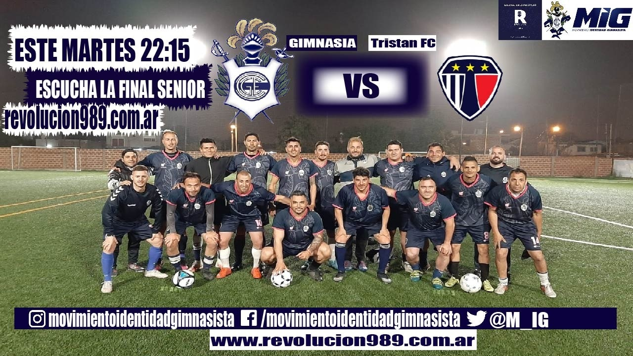 SENIOR GIMNASIA vs Tristan FC