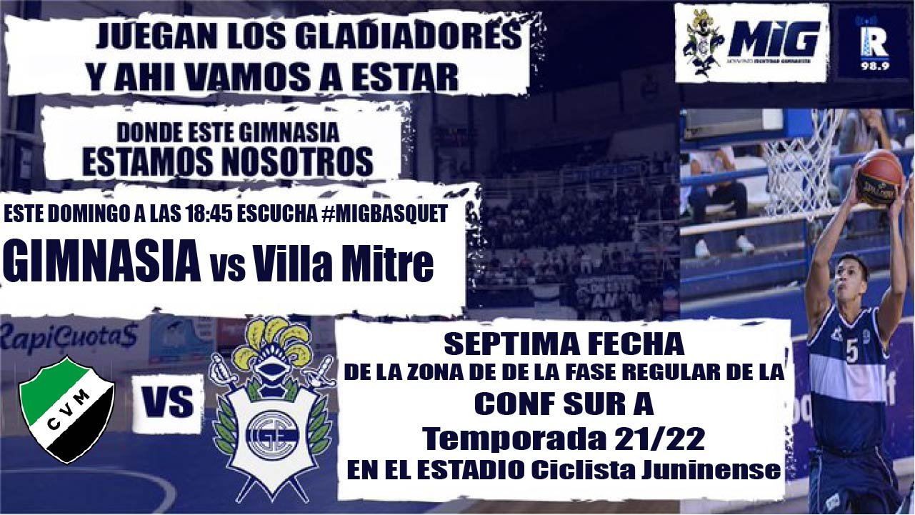 GIMNASIA vs Villa Mitre 30/10/21